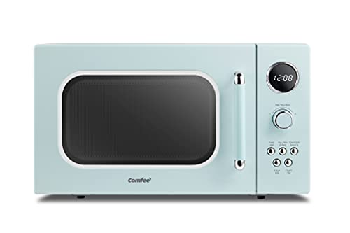 COMFEE' CM-M091AGN Retro Microwave with Multi-stage Cooking