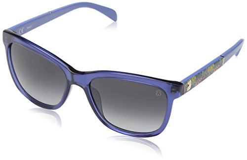 Tous STO905-550D99 Gafas de Sol, Shiny Blue, 55 para Mujer