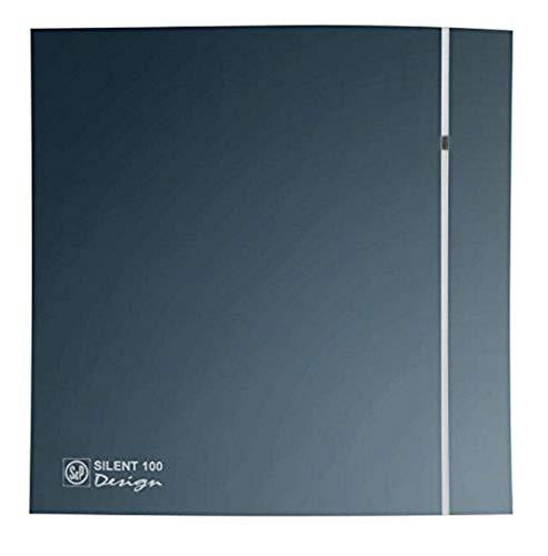 S & p silent-100 design - Extractor bano silent-100-crz silver design