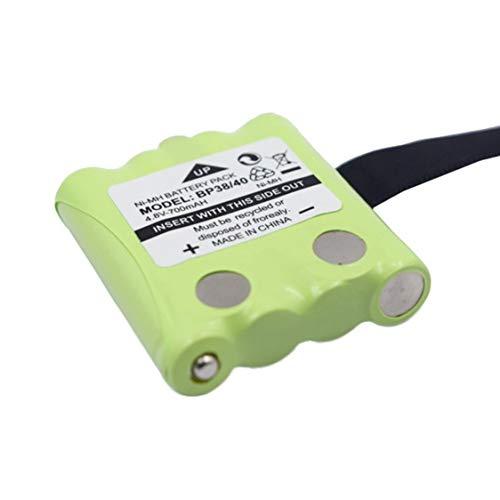 DDyna 4.8V 700mAh NI-MH Batería Reemplazo de la batería Walkie-Talkie Adecuado para Uniden para Motorola TLKR T4 T5 T6 T7 T8 - Verde