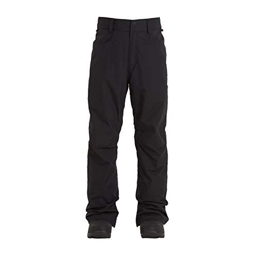BILLABONG Outsider-Pantaloni da Snowboard/Ski da Uomo, Black, M