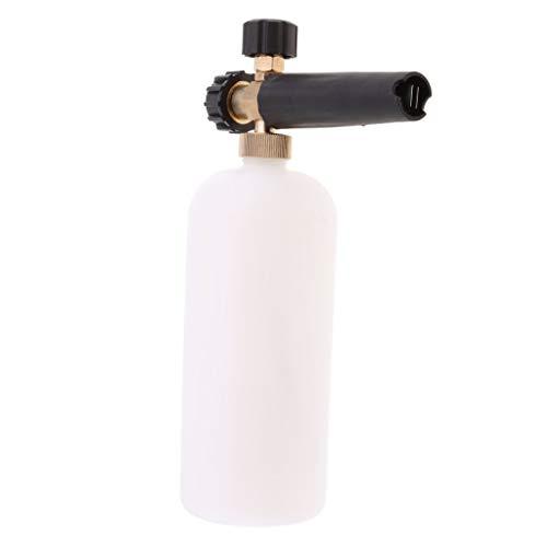 1L zware sneeuw schuim spuitpistool hogedrukreiniger mondstuk schuim reinigingsfles met adapter M22 draad voor tuin auto reinigen en reinigen