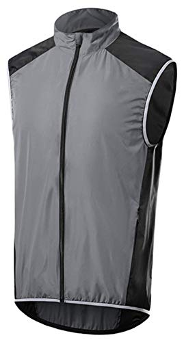 Hombres ciclismo chaleco camisas camisas gilets bicicleta jersey ciclismo corriendo capa lluvia abrigo ciclo superior a prueba de viento impermeable transpirable rompevientos reflectores reflectores d