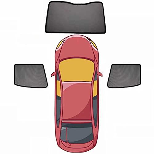 QCYP Parasol De Coche Adecuado para Volkswagen VW Multivan T6 Cortinas de Malla termoaislante De Sombra