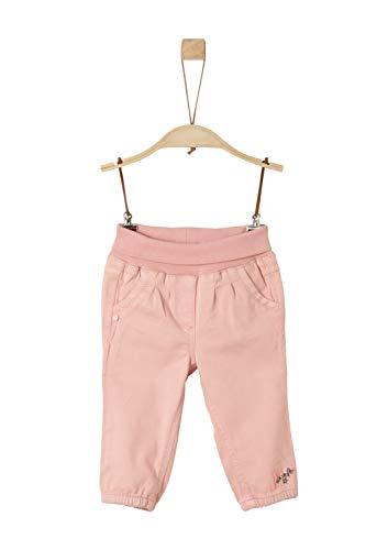 s.Oliver Baby-Mädchen 65.908.73.2123 Hose, Rosa (Dusty Pink 4257), (Herstellergröße: 80)