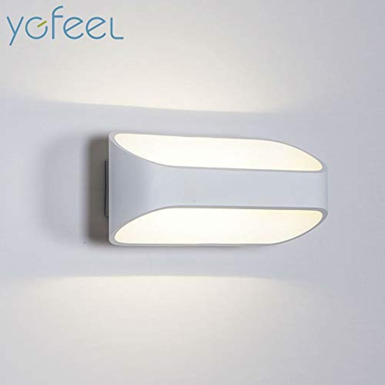 HNZZN 5 Watt 10 Watt LED Wandleuchten Modernen Europischen Stil Foyer Wohnzimmer Schlafzimmer Lampe Korridor Nacht Lesebeleuchtung AC90-260V, 5 Watt 160x100x90mm, Cool Weiß (5500-7000 Karat)