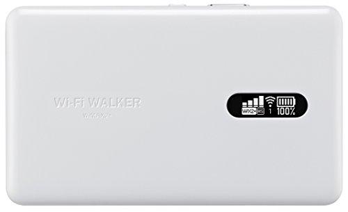 『UQコミュニケーションズ Wi-Fi WALKER WiMAX 2+ NAD11 ホワイト』のトップ画像
