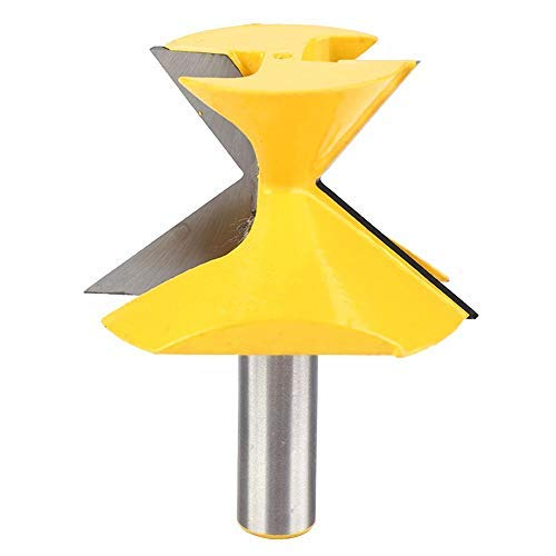 Crown Molding Miter Router Bit1/2 Shank 52 Degree X 38 Degree Crown Molding Miter Router Bit Woodworking Cutting Tool