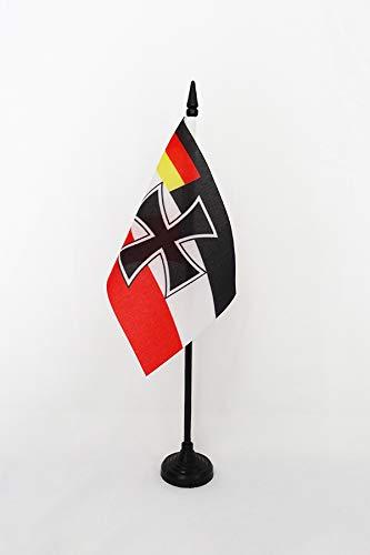 Az Flag Tabla Bandera Fuerzas Armadas República de Weimar, 15 x 10 cm