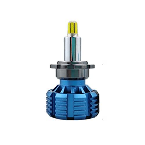 GCS Gcsheng 2PCS H7 Bombillas LED CANB/US H1 H8 H9 H1 H11 9005 HB3 9006 HB4 D2S 9012 360 Faro LED de Grado para el Coche 1500 0LM 5500K 6 Laterales 12v lámpara