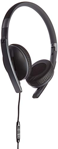 Sennheiser 506717 HD2.30i On-Ear-Kopfhörer (mit geschlossener Bauweise, geeignet für Apple iOS) schwarz