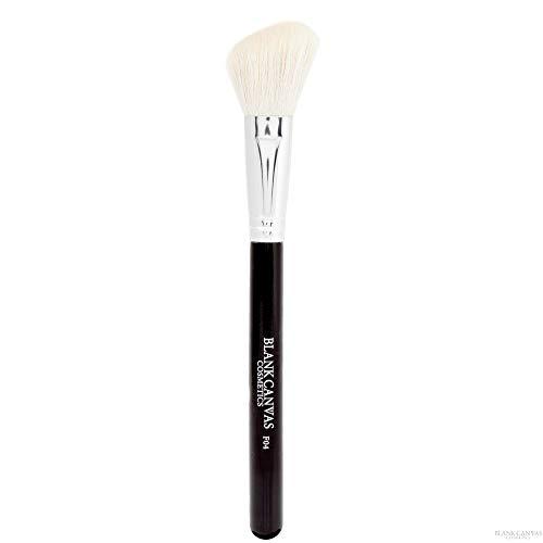 Blank Canvas F04 Pinceau de maquillage multi-usage pour contour de blush Argenté/noir