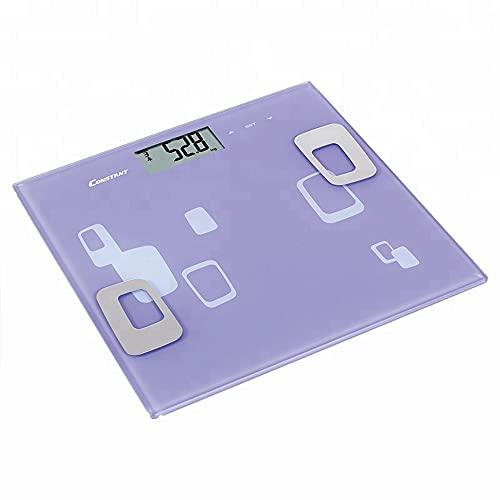 Balança Digital Corporal Bioimpedancia Imc Gordura Massa Multifuncao Banheiro Inteligente Alta Precisao Touch Display fit Academia