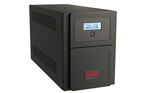 APC Easy UPS SMV sistema de alimentación ininterrumpida (UPS) Línea interactiva 750 VA 525 W 6 salidas AC - Fuente de alimentación continua (UPS) (Línea interactiva, 750 VA, 525 W, Seno, 160 V, 295 V)