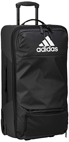adidas T.Trolley L Gym Bag, Black/White, One Size