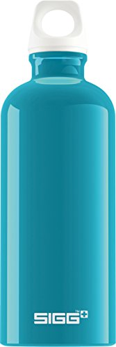 Sigg Fabulous, Borraccia d'Acqua Unisex – Adulto, Turchese, 0.6 L