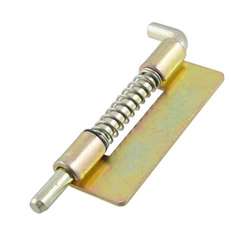 L-Yune, Primavera 1pc Hardware Cargado de Seguridad Metal Barril pestillo 3.5' de Largo (tamaño : 5.5mm)