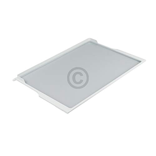 Bosch Siemens 701672 00701672 ORIGINAL Glasplatte Glastrageplatte Absteller Einlegefach Glasboden 505x320mm Rahmen Kühlschrank Kühlautomat Kühlgerät auch Constructa Neff Balay
