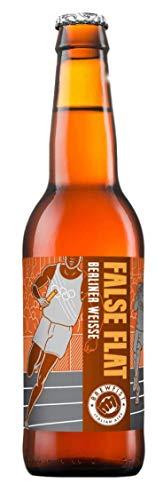 Birra Artigianale BREWFIST FALSE FLAT - BERLINER WEISSE LAMPONI&BASILICO - 4.0% - BOTT. 33 CL x 12