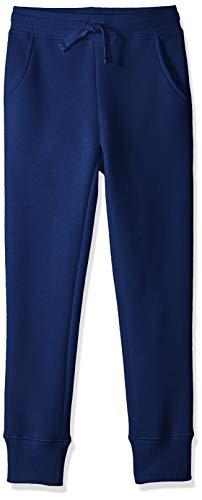 Amazon Essentials Girl's Fleece Jogger, Navy 4T