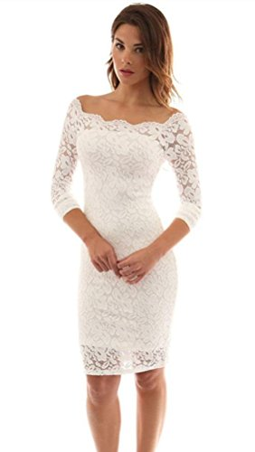 Elegant Lace Wedding Dress Off the Shoulder