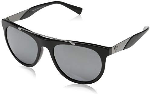Versace Herren 0VE4347 GB1/6G 56 Sonnenbrille, Schwarz (Nero)