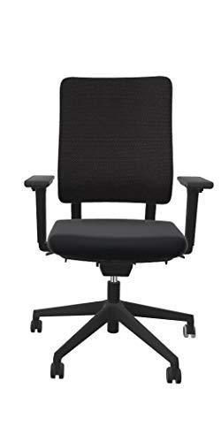 Viasit Drumback Work@Home Edition, Bürostuhl für Zuhause (schwarz)