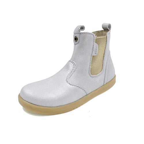 Bobux 830011 KP Jodphur Silver Shimmer Boot - Argenté - Silver, 33 EU