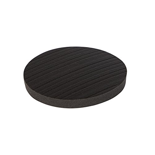Stay! Furniture Pads, Round Furniture Grippers, Gripper Pads, Protect Your Floor   Works on Hardwood Floors and Carpet, Anti-Slip   Round Black, Set of 4 (3 inch)