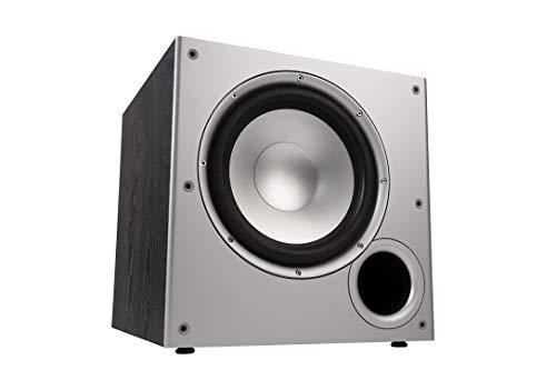 Polk Audio PSW10E Aktivsubwoofer für Heimkino Soundsysteme und Musik,  10