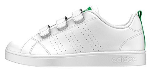 adidas AW4880 , Zapatillas de Deporte Unisex niño, Blanco, Verde, 28 EU