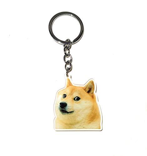 Doge Much Wow Meme Premium Acrylic Keychain