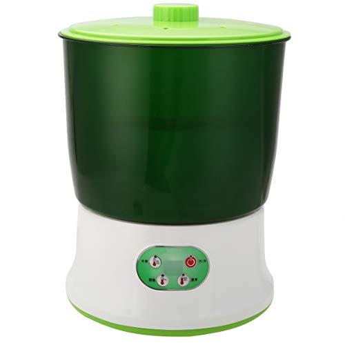 STARKWALL Mayitr 3 Couches Multifonctionnel Grande Capacité Machine Verte Maison Haricot Graines Pousses Machine Jardin Pépinière Pots 220v 1.5 L