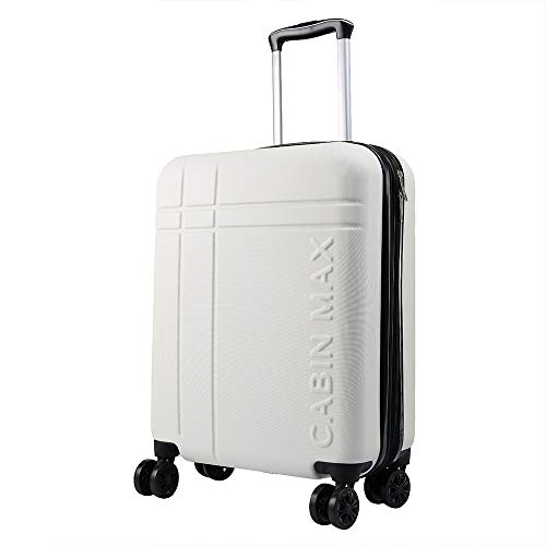 Cabin Max Velocity Expandable 4 Wheel Luggage Suitcase for Ryanair Cabin Bags 55 x 40 x 20