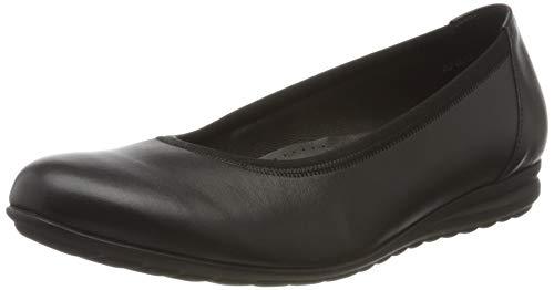 Gabor Shoes Damen Comfort Sport Geschlossene Ballerinas, Schwarz (Schwarz 57), 41 EU