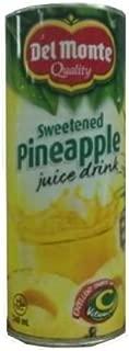 Del Monte Sweetened Pineapple 240Ml