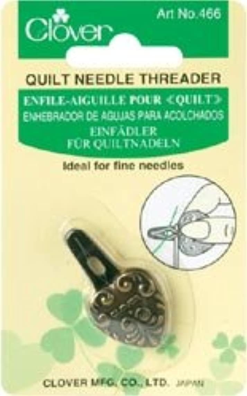 Bulk Buy: Clover Decorative Needle Threader Antique Gold 466 (3-Pack)