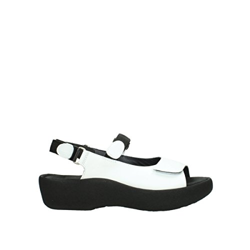 Wolky Comfort Sandalen Jewel - 30100 Weiss Leder - 38