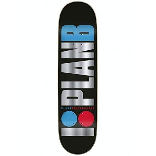 Plan B Skateboards Team OG Foil - Tavola da skateboard 8,25'