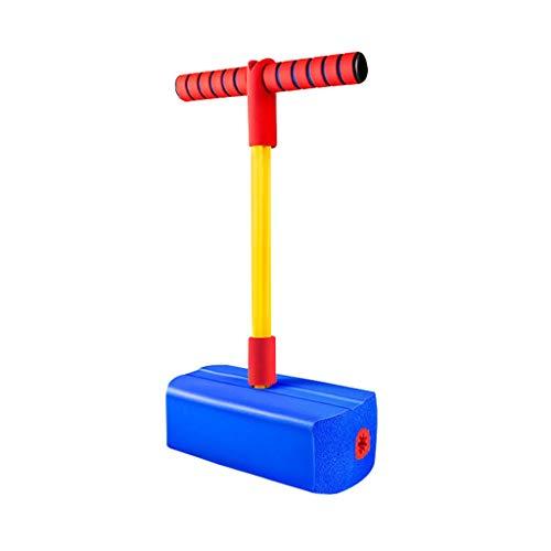 WENJIA Pogo Saltarines Pogo Stick para Niños Safe Soft Childrens Fun Safe Soft Pogo Stick,Saludable Y Divertido Fácil De Saltar,Ayuda A Entrenar El Equilibrio (Color : Blue 1)