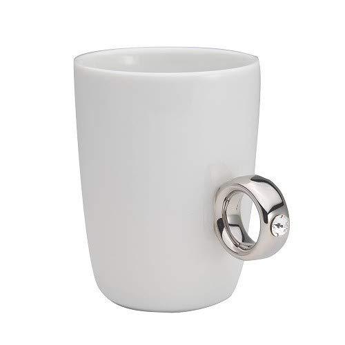 Floyd(フロイド) Cup Ring(カップリング) マグカップ ホワイト シルバー