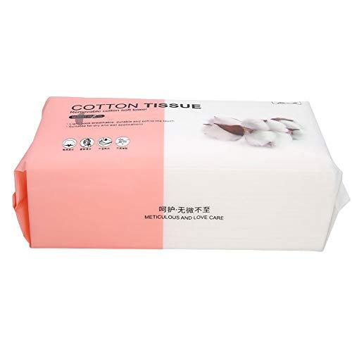 Tissu de nettoyage à sec humide Tissu de nettoyage du visage Papier de nettoyage du visage pour le démaquillage pour essuyer la sueur pour une utilisation en voyage