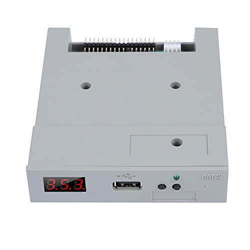 Oumij SFR1M44-U100, 3,5 Zoll USB SSD Diskettenlaufwerk Emulator (Plug & Play) - Diskettenlaufwerk Emulator, USB Diskettenemulator - Diskettenlaufwerk, mit 1,44 MB Diskettenlaufwerk