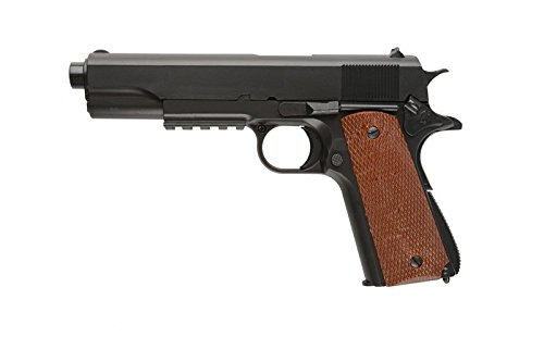 Pistola airsoft well P-361 negra . Calibre 6mm. Potencia 0,5 Julios