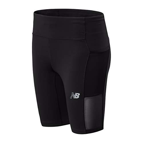 New Balance Women's Impact Run Bike Short, Black, M