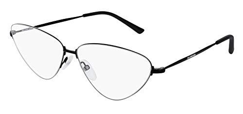 Balenciaga BB0015O Occhiali da vista 001 Nero-Nero 61mm
