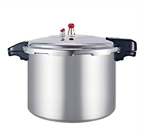 Cocina de presión a prueba de explosiones comerciales de gran capacidad, cocina de la estufa de gas a gran presión a presión, cocción a presión de la llama de la abertura doméstica, 21L / 22L / 23L (c