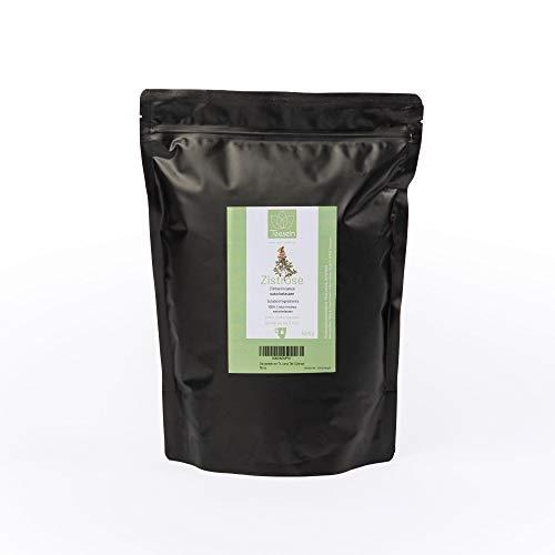 Teesein® Zistrosentee I 500 g I Cistus Tee 100% naturbelassen unbehandelt & direkt vom Landwirt I Cystustee aus Zistrosenkraut I Badetee Cistus Incanus aus natürlicher Zistrose I Cystus