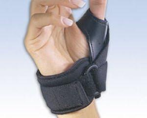 Tether Thumb Stabilizer online Manufacturer OFFicial shop shop Right Medium Black Orthopedics by FLA
