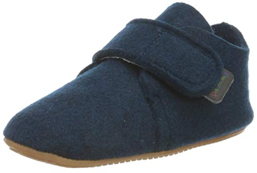 Däumling Unisex-Kinder-Schuhe Lilli-Barfuß Sneaker, Pet tiefsee, 23 EU